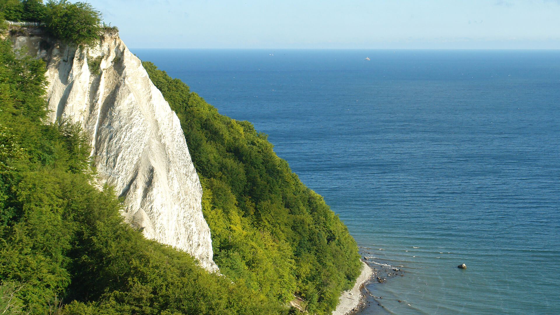 Nationalpark Jasmund: The landmark of Rügen - the 'Königsstuhl'