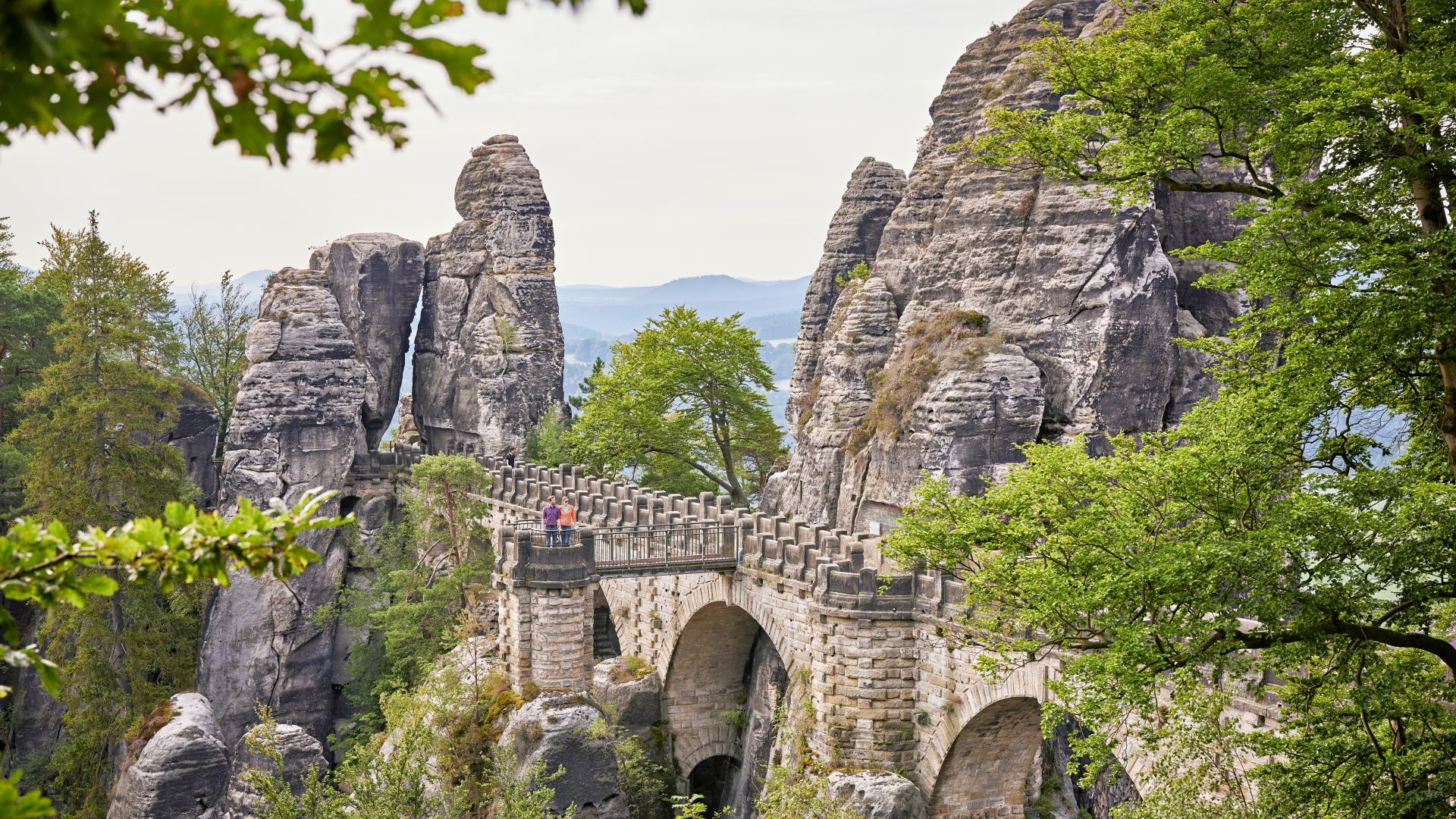 Saxon Switzerland: Hiking in the Elbsanstein Mountains