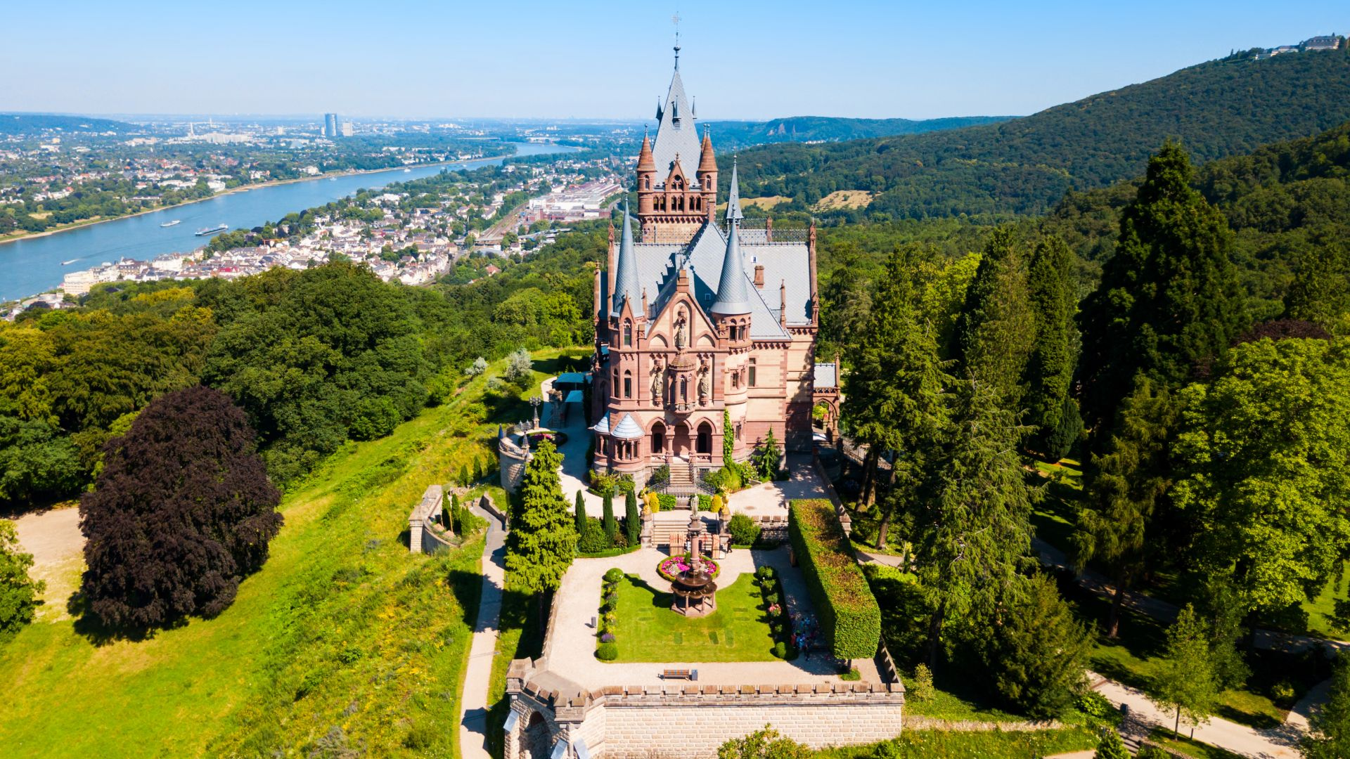 Konigswinter: Drachenburg Castle on the Rhine