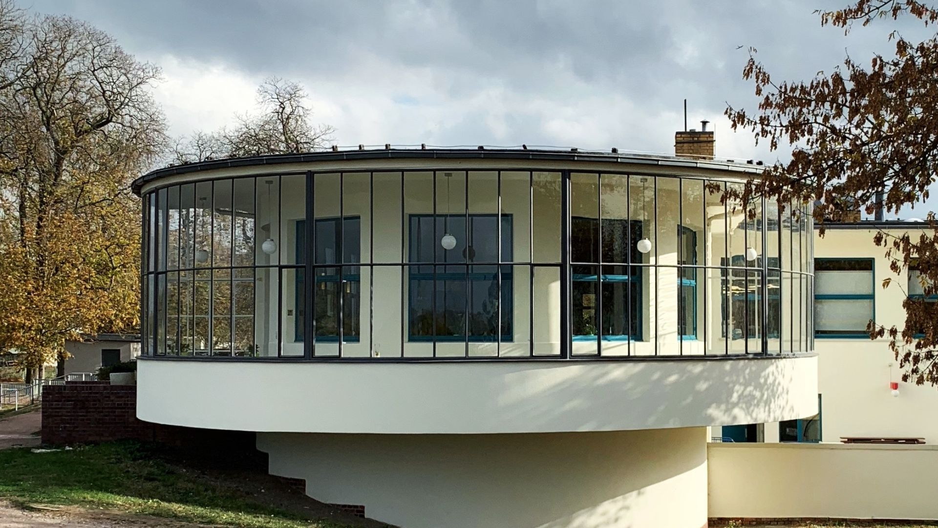 Dessau: Kornhaus, Architekt: Carl Fieger, 1929/30